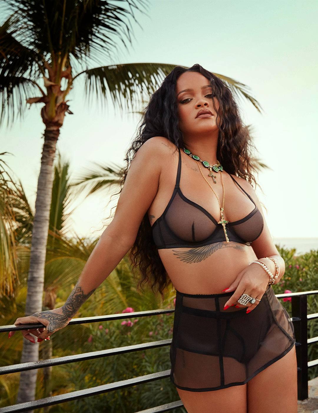Rihanna Savage Lingerie
