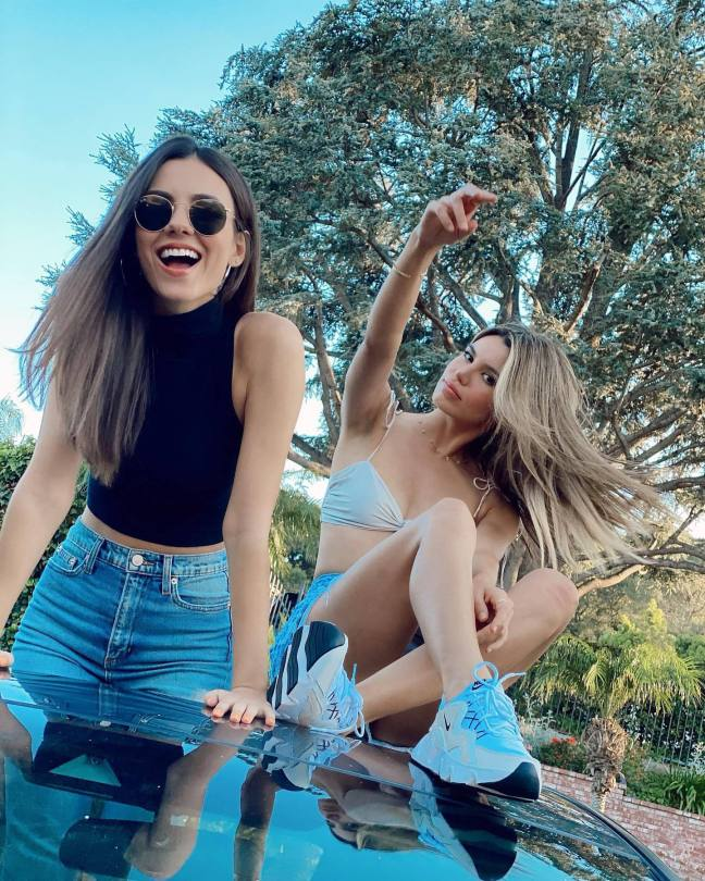 Victoria Justice And Madison Reed Beautiful