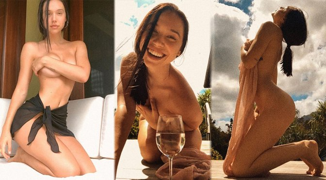 Alexis Ren Beautiful Naked Photoshoot