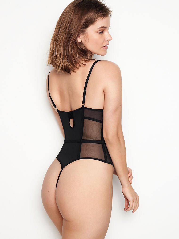 Barbara Palvin Hot In Panties