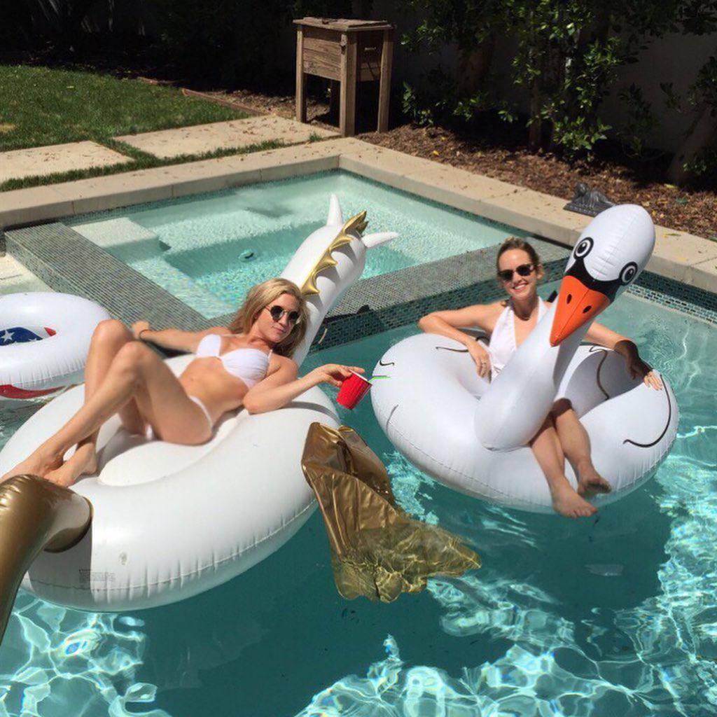 Brittany Snow In Bikini
