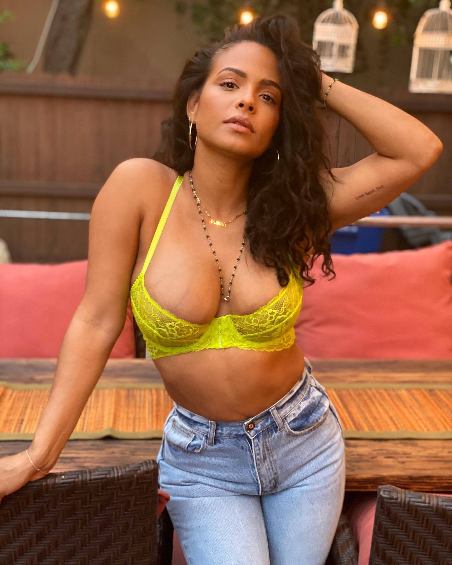 Christina Milian Huge Boobs