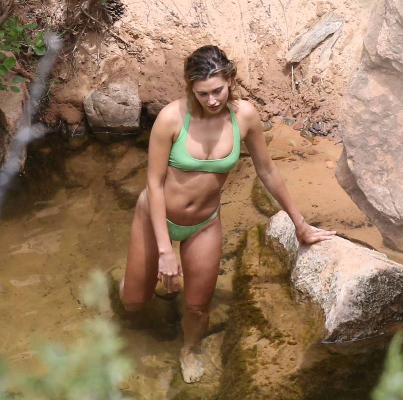 Hailey Bieber Sexy In Bikini