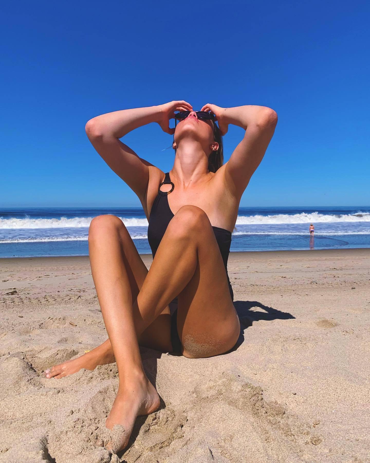 Hailey Clauson Sexy On Beach