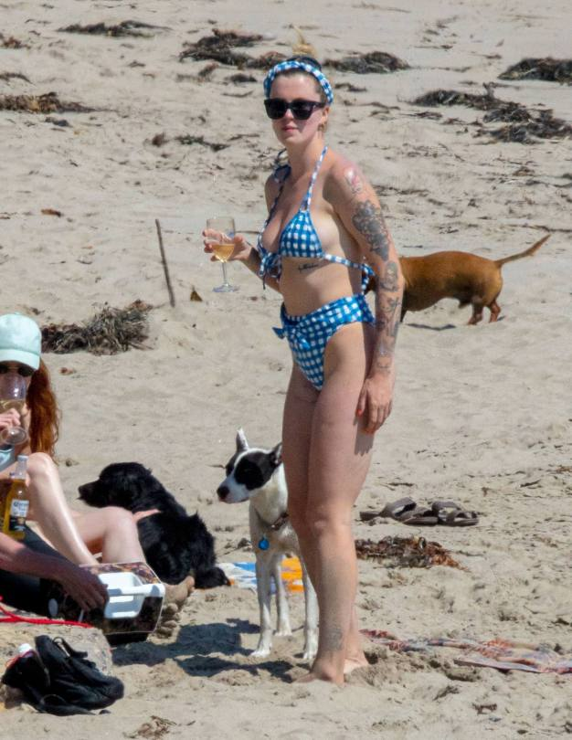 Ireland Baldwin Sexy On Beach