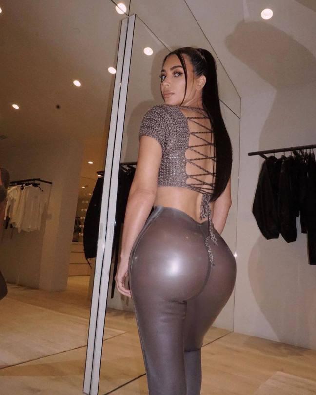 Kim Kardashian Big Ass