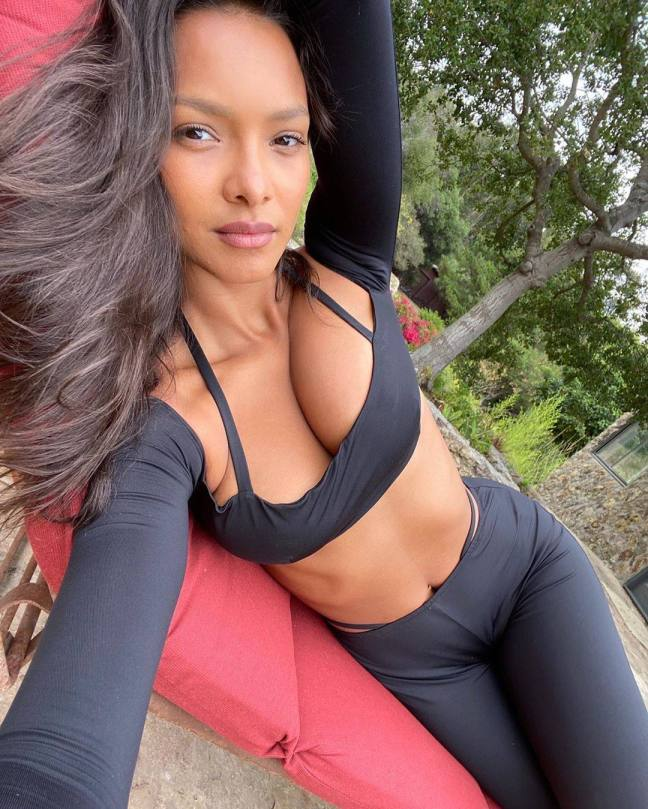 Lais Ribeiro Sexy Boobs