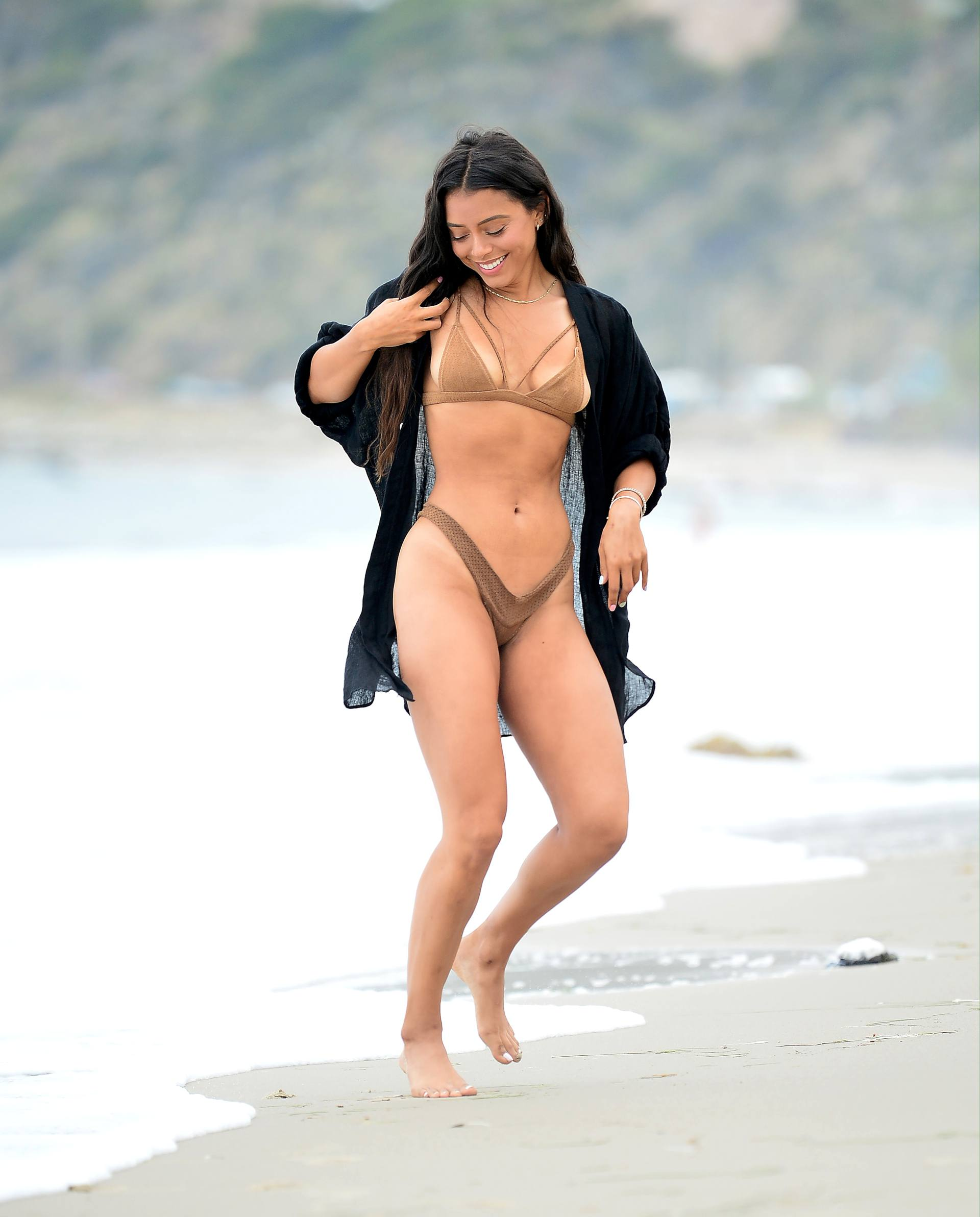 Michelle Hayden Sexy At Beach