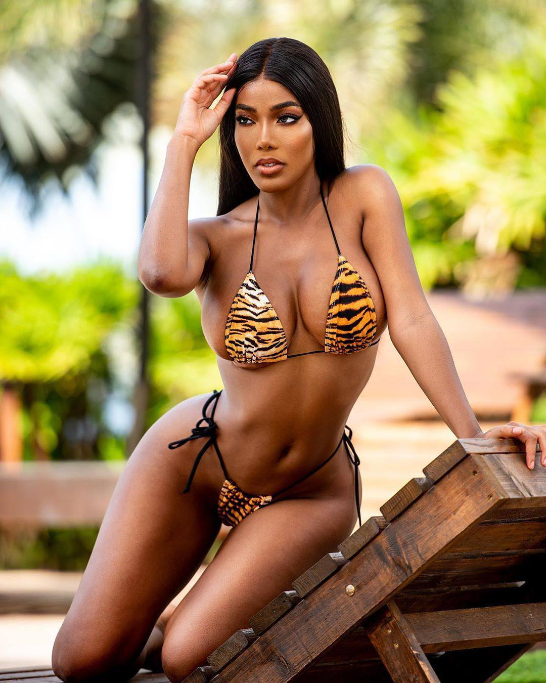 Monifa Jansen Hot Pics