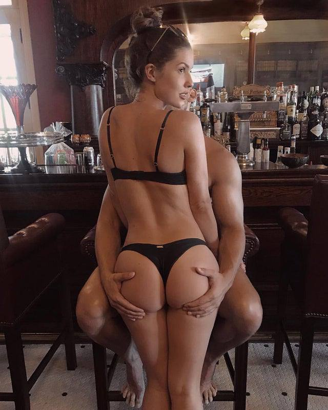 Amanda Cerny Beautiful Ass In Thong