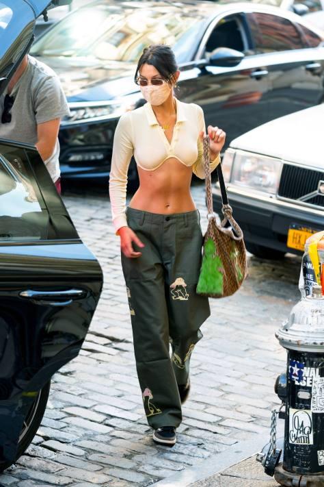 Bella Hadid Hot Toned Body
