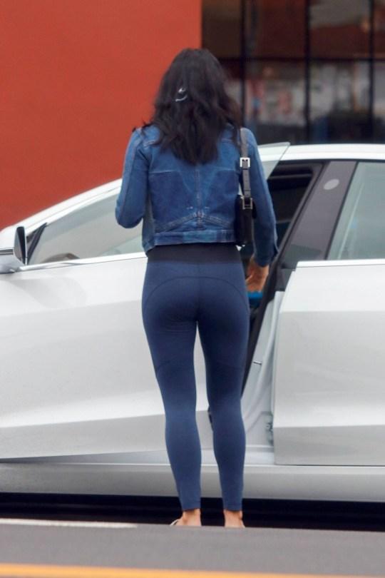 Camila Mendes Sexy In Leggings