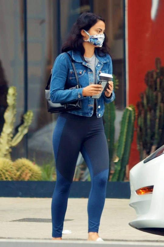 Camila Mendes Sexy In Leggings