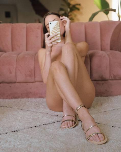 Christa B Allen Sexy Naked Selfie