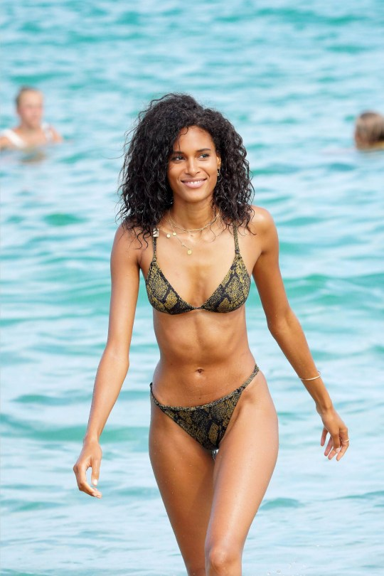Cindy Bruna Sexy In Bikini