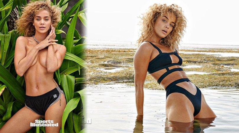 Jasmine Sanders Sexy Body In Bikini