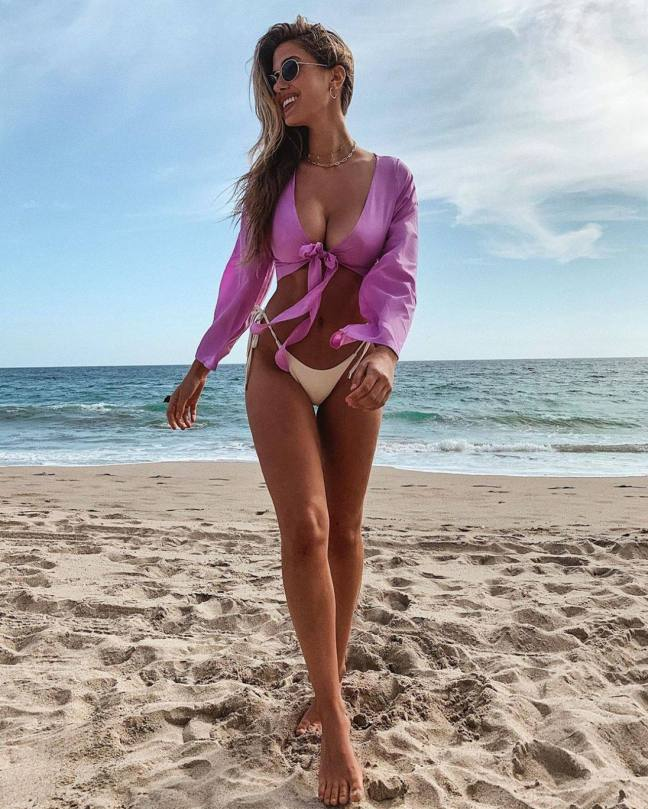 Kara Del Toro Beautiful Boobs On Beach