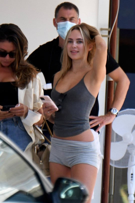 Kimberley Garner Sexy In Tiny Shorts