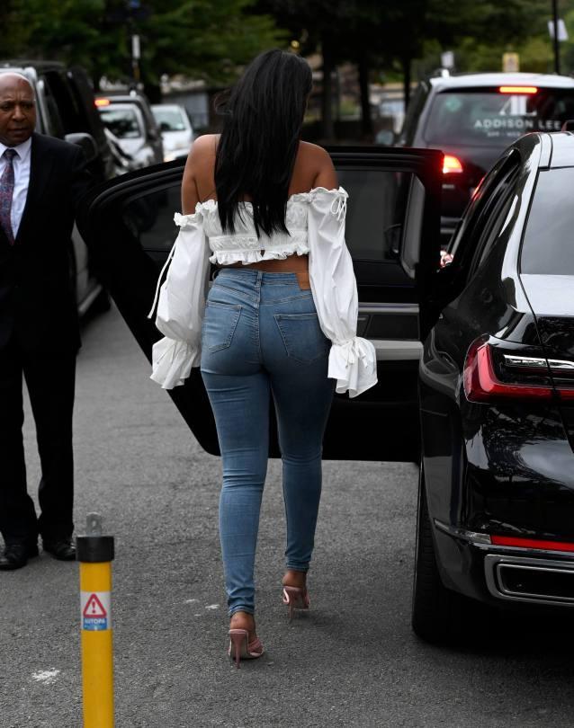 Maya Jama Sexy In Jeans