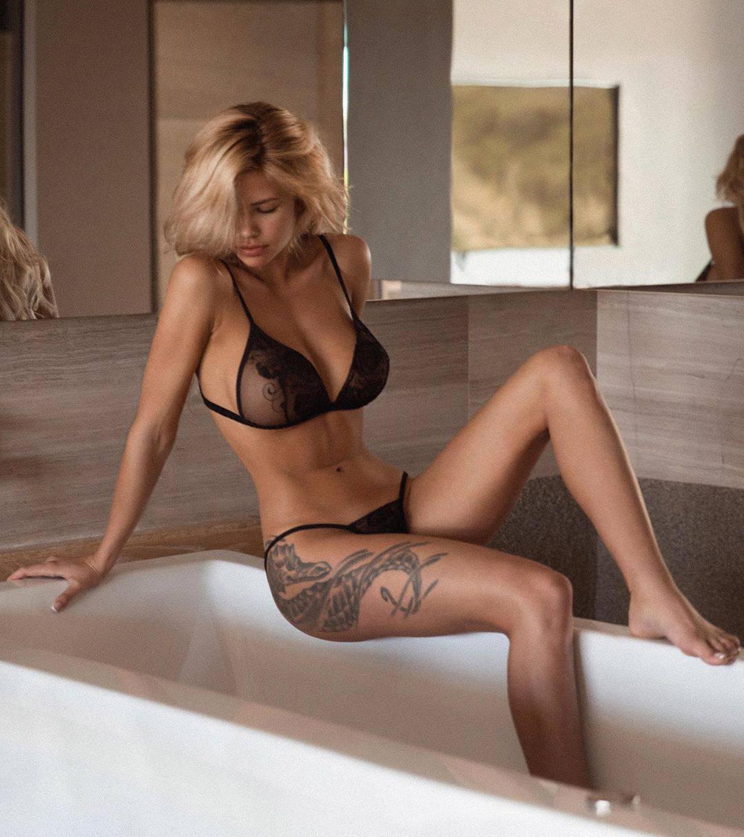 Nata Lee Sexy Black Lingerie