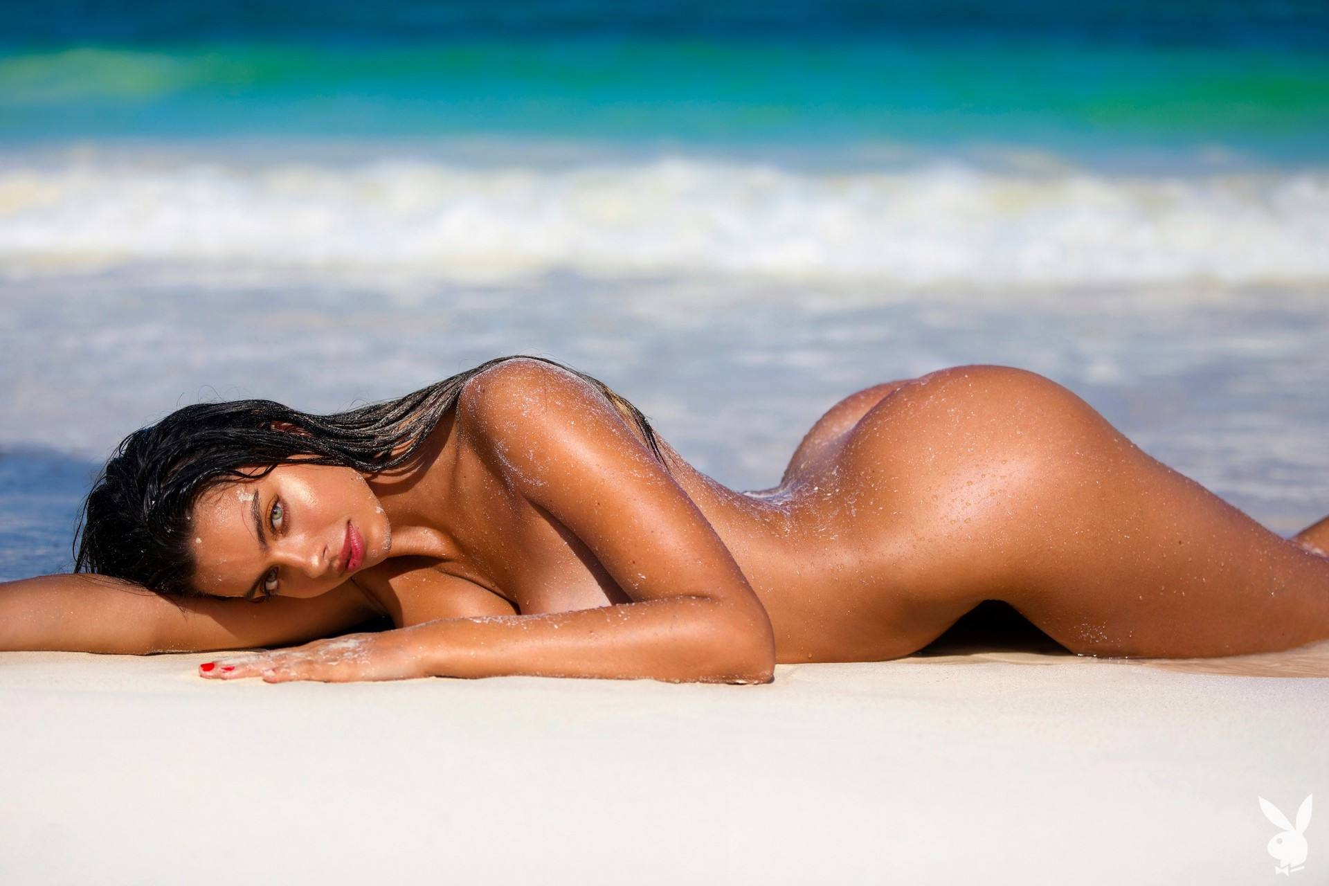 Priscilla Huggins Playboy Naked Outtakes
