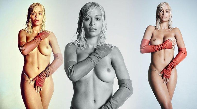 Rita Ora Topless Perfect Boobs