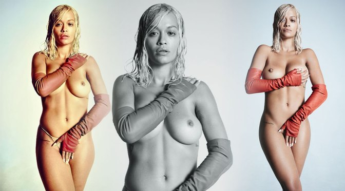 Rita Ora – Perfect Boobs in Clash Magazine Topless Photoshoot Outtakes (NSFW)