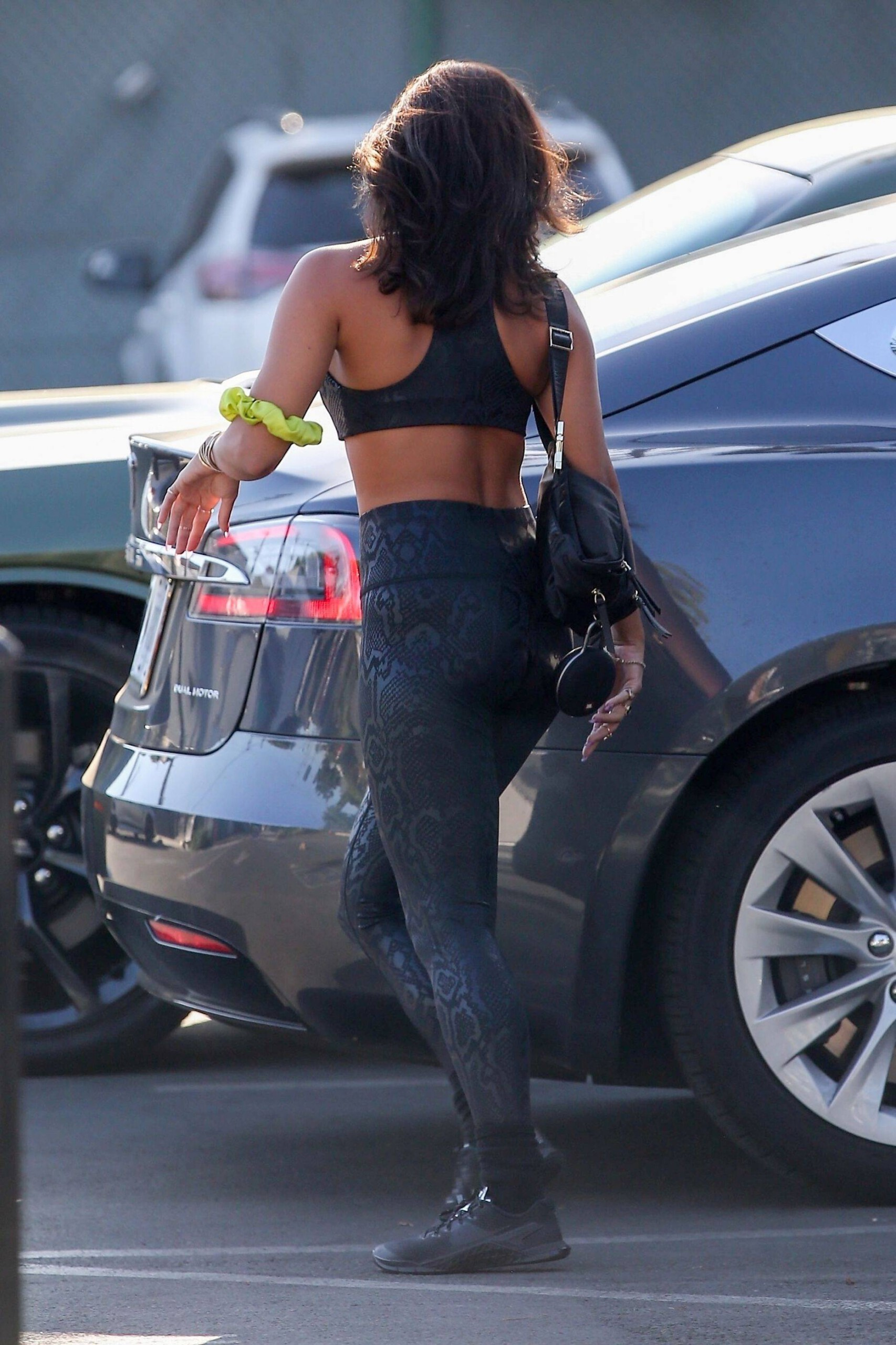 Vanessa Hudgens In Leggings