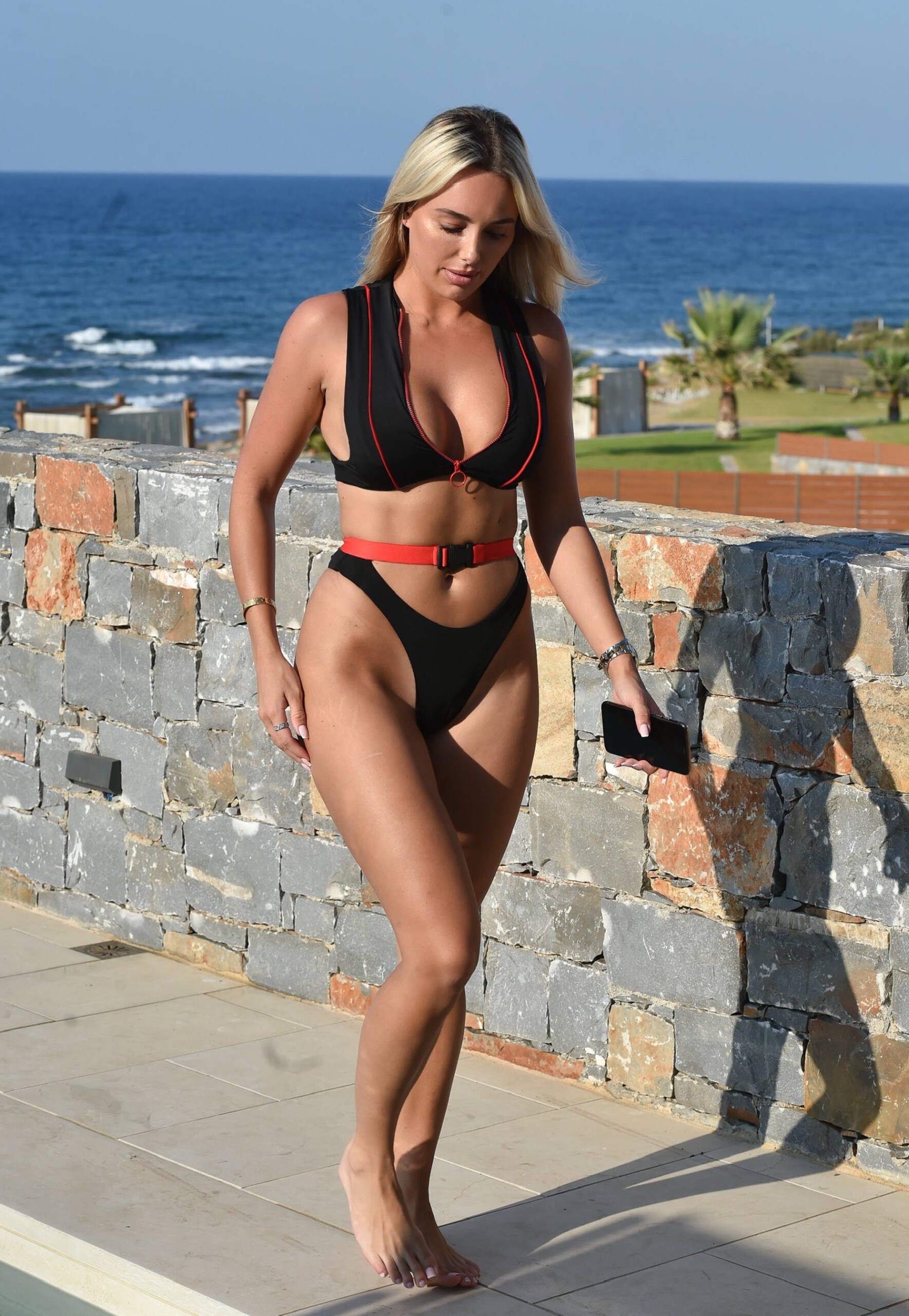 Amber Turner In Thong Bikini