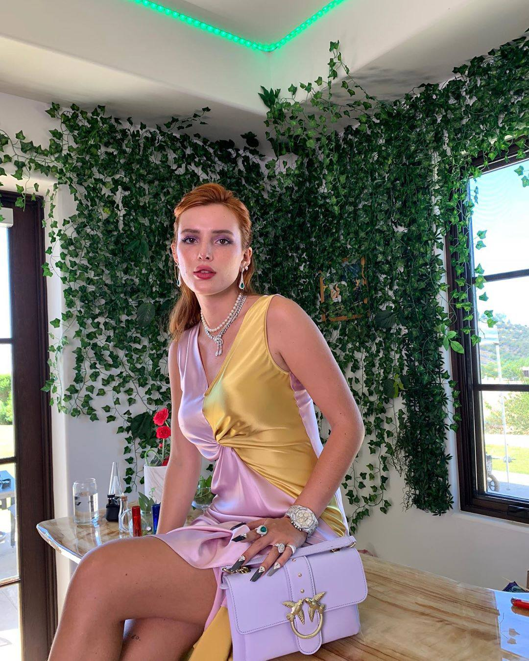 Bella Thorne Beautiful In Sexy Dress