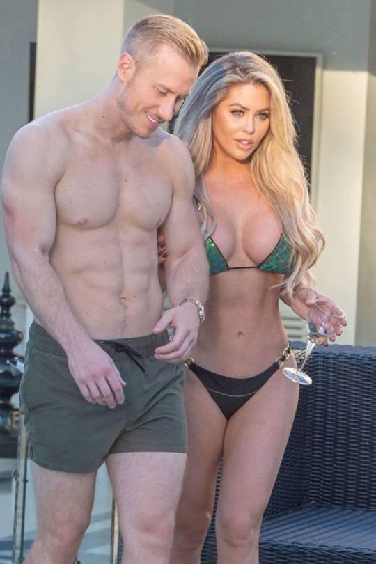 Bianca Gascoigne Big Boobs In Bikini