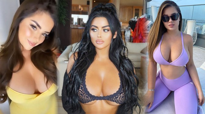 Abigail Ratchford's Hot Big Boobs and Other Celebrities in a Weekly Instagram/Twitter Roundup