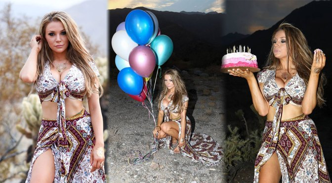 Courtney Stodden – HOt Big Breasts in Sexy Birthday Photoshoot in Palm Springs