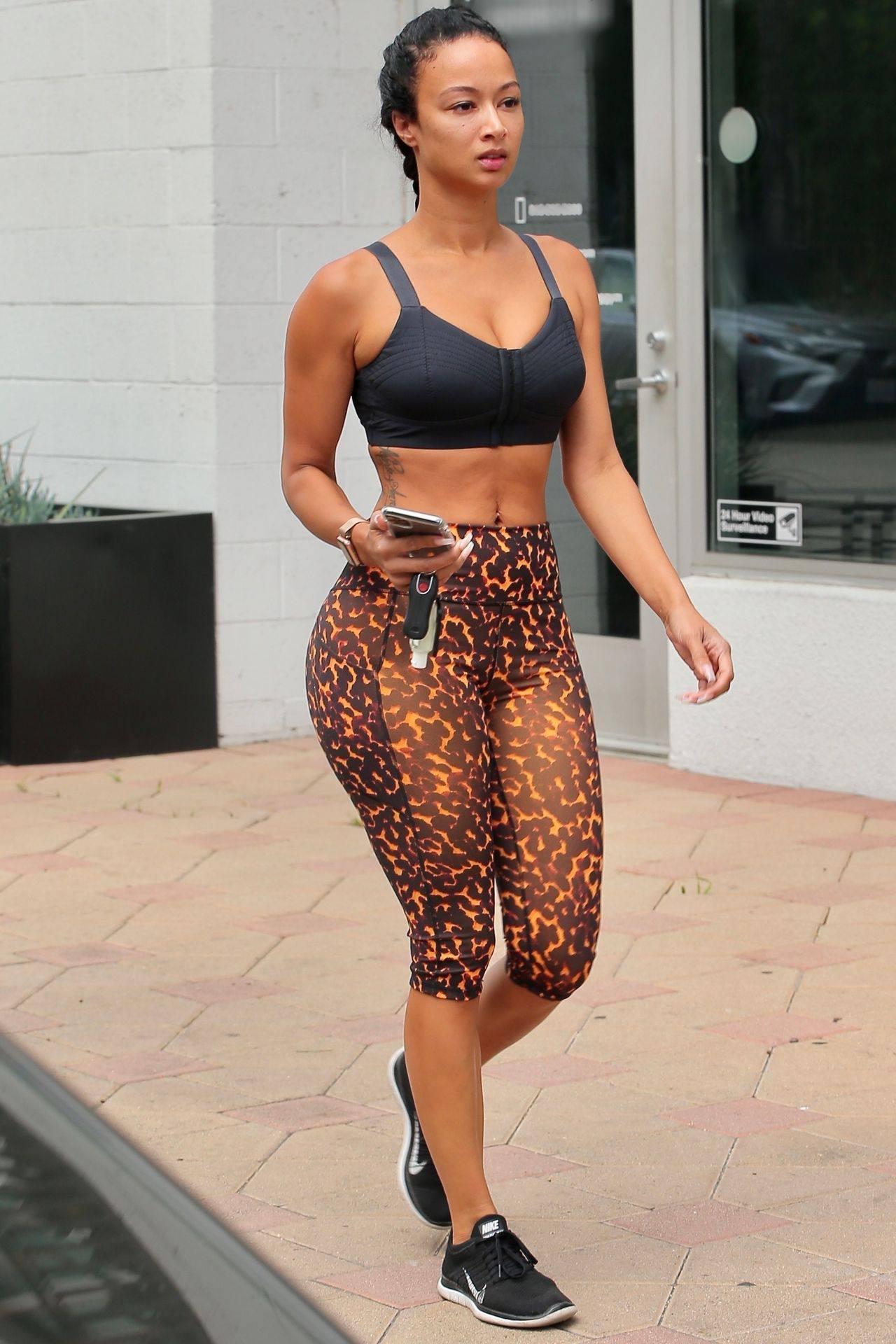 Draya Michele Sexy In Leggings