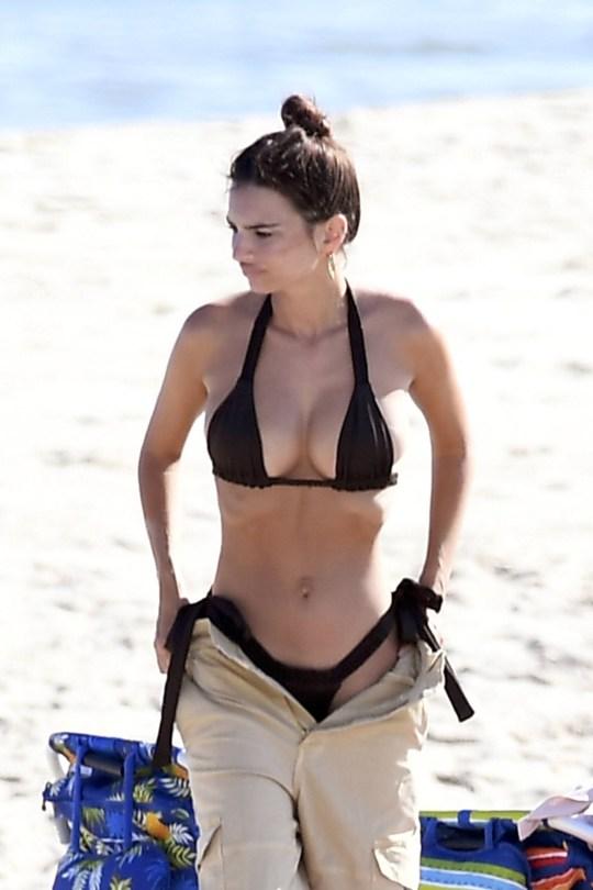 Emily Ratajkowski Beautiful Body In Bikini