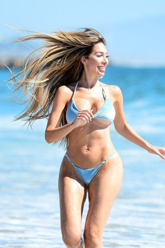 Farrah Abraham Hot Boobs In Bikini