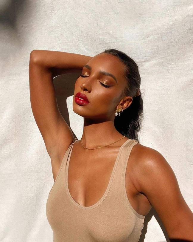 Jasmine Tookes Beatiful Boobs