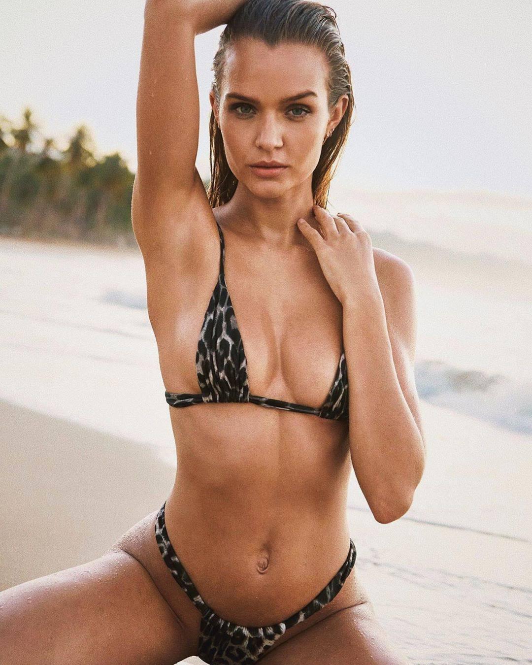 Josephine Skriver Tiny Bikini