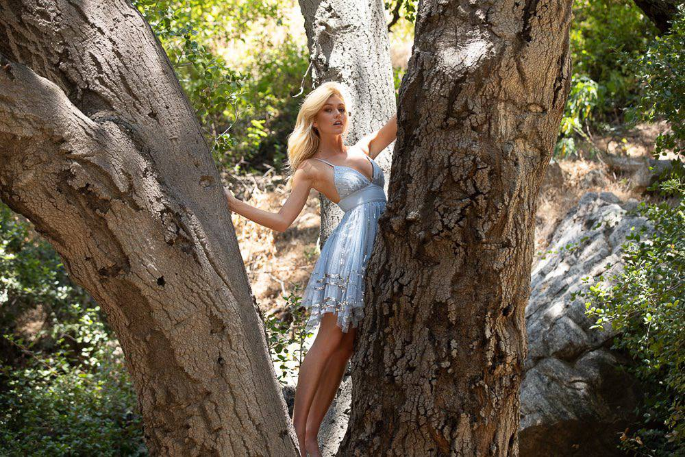 Katherine Mcnamara Sexy In Beautiful Dress