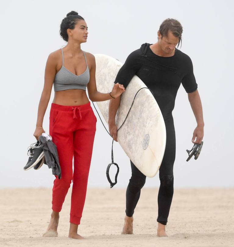 Kelly Gale Sexy At Beach