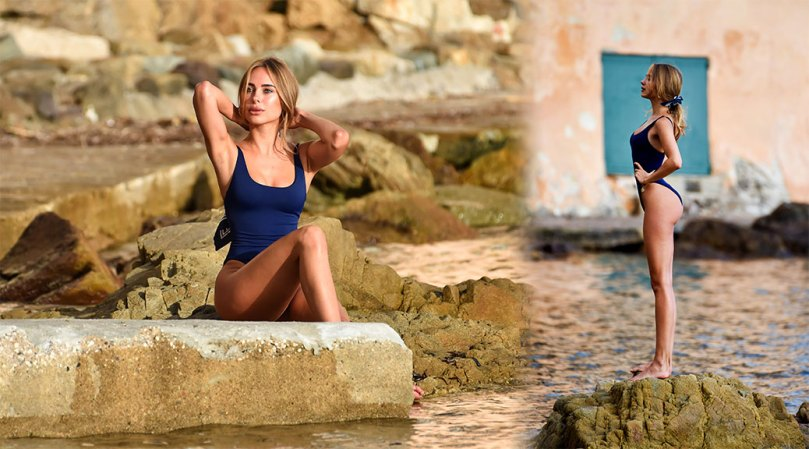 Kimberley Garner Fantastic Ass In Beautiful Photoshoot