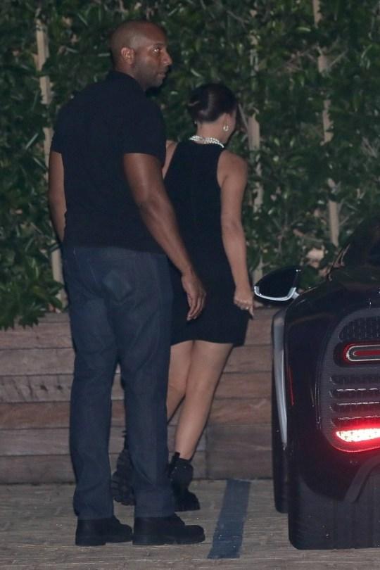 Kylie Jenner Sexy In Tiny Black Dress