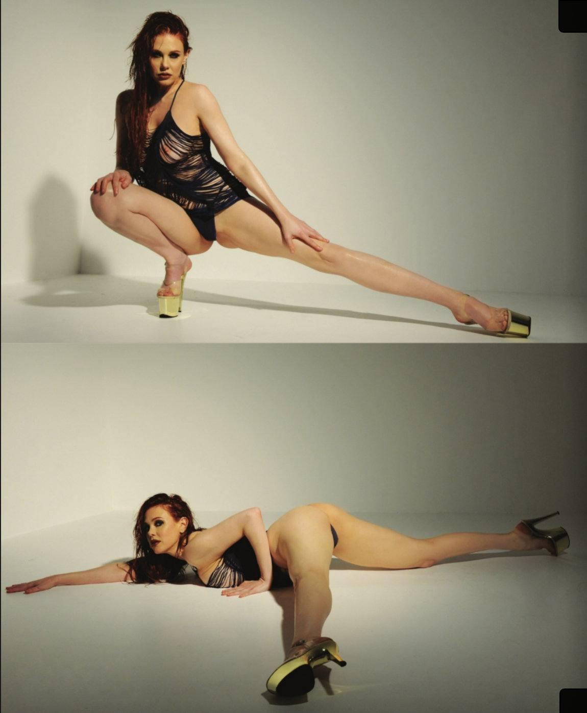 Maitland Ward Topless Photoshoot