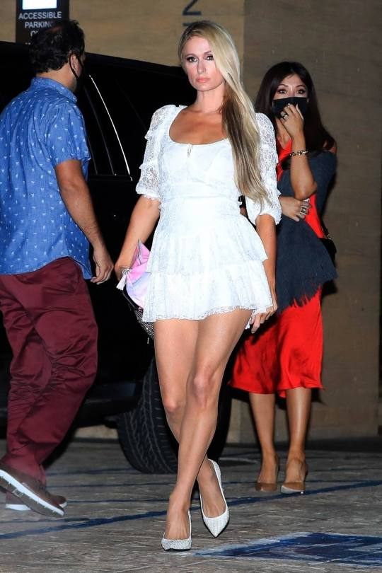 Paris Hilton In Short Dress