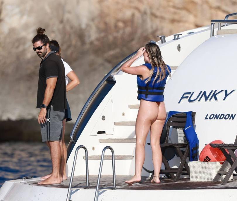 Perrie Edwards Hot Ass In Thong Bikini
