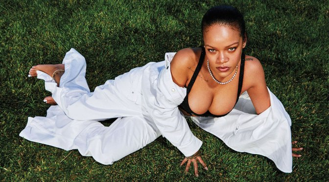 Rihanna – Beautiful Big Boobs in Sexy Photoshoot for Harper's Bazaar Magazine (September 2020)