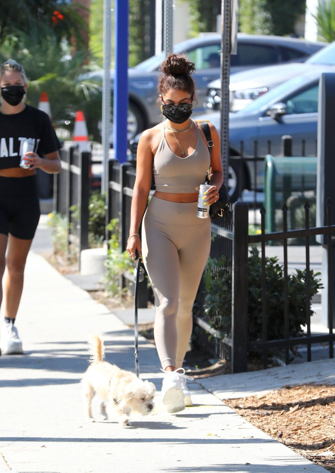 Vanessa Hudgens In Gym Outfit   Hot Celebs Home