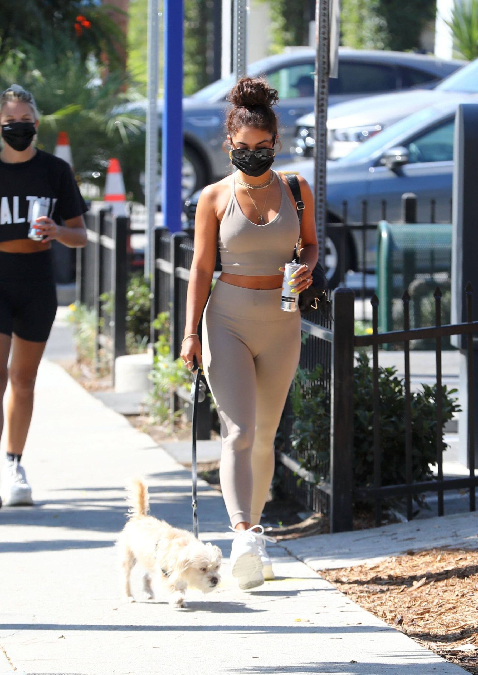 Vanessa Hudgens In Gym Outfit