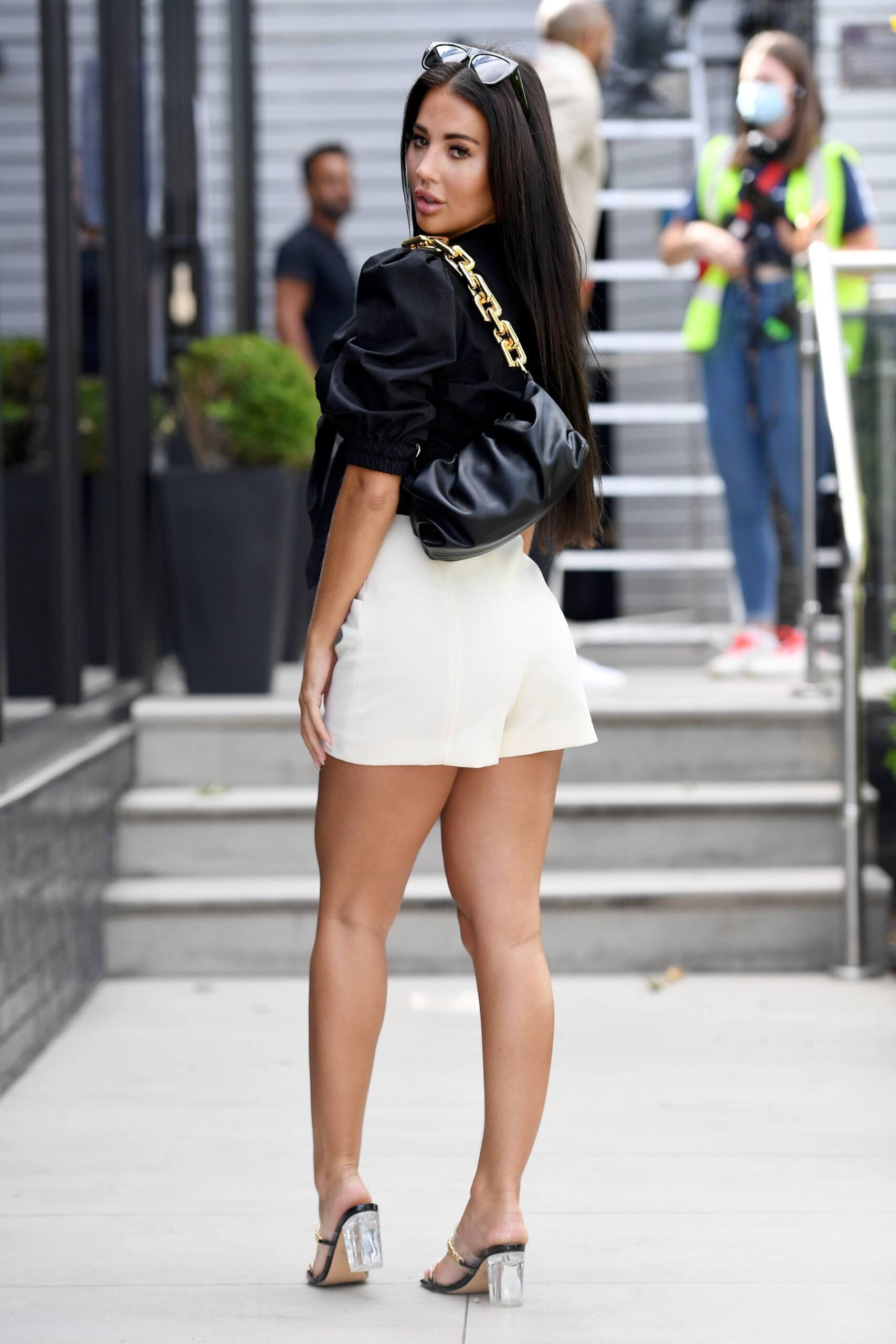 Yazmin Oukhellou Sexy Legs