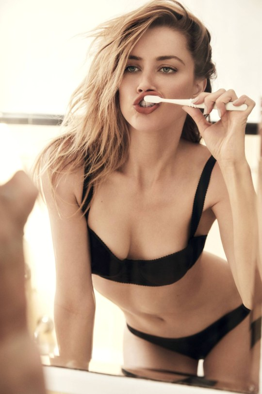 Amber Heard Sexy Photoshoot